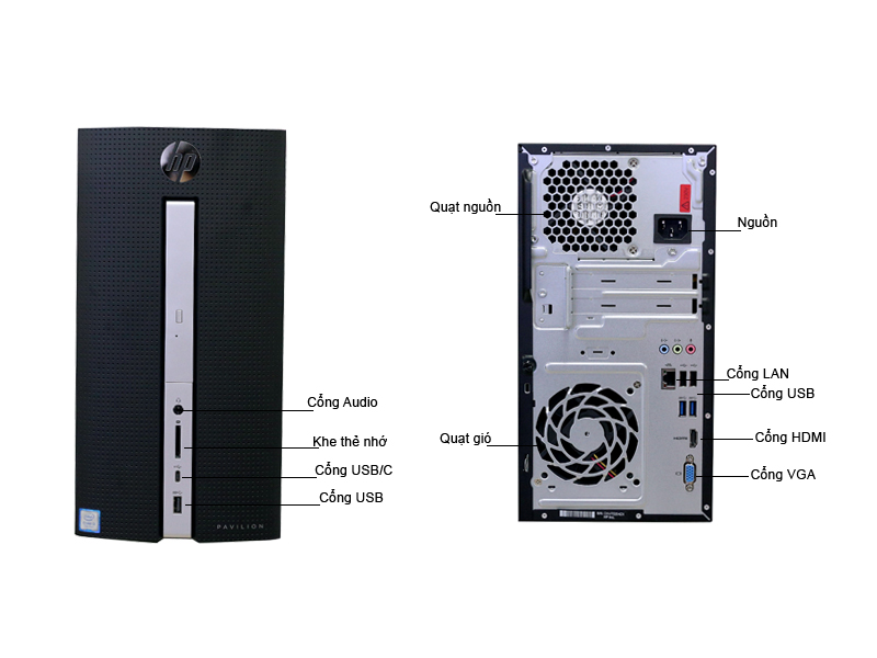 Máy tính để bàn HP Pavilion 570-P013L Z8H71AA