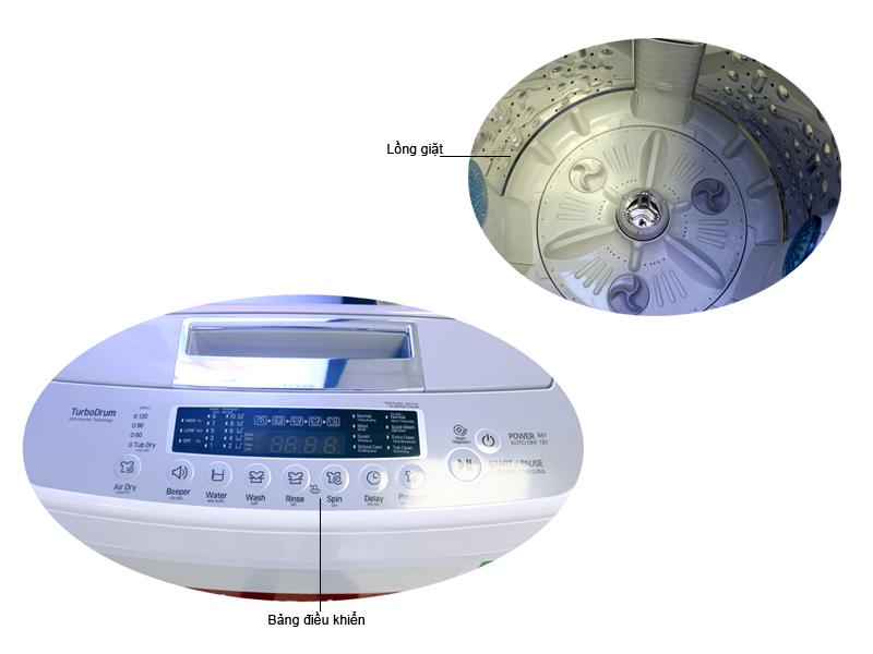 Máy giặt Lồng Đứng LG T2385VSPW - 8.5 Kg