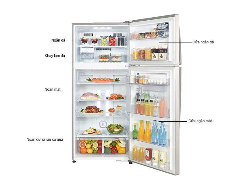Tủ Lạnh LG GN-L502SD 438 Lít  Inverter