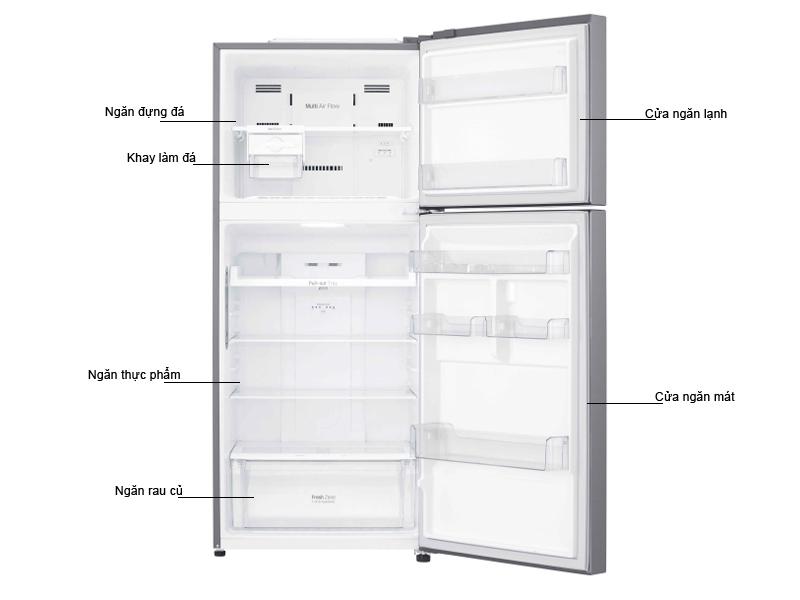 Tủ lạnh LG GN-L422PS 410 Lít Inverter