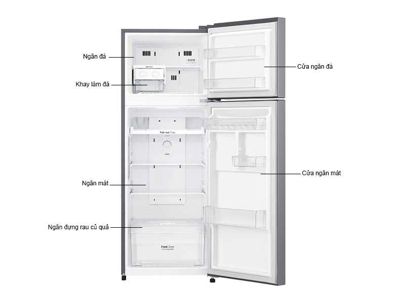 Tủ Lạnh LG 208 Lít GN-L208PS.APZPEVN