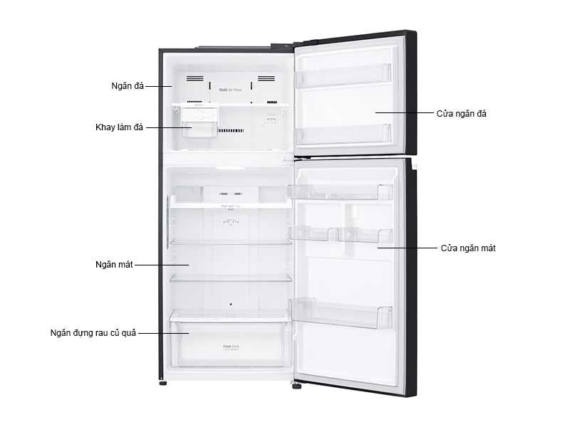 Tủ Lạnh LG 410 Lít GN-L422GB.ABMPEVN