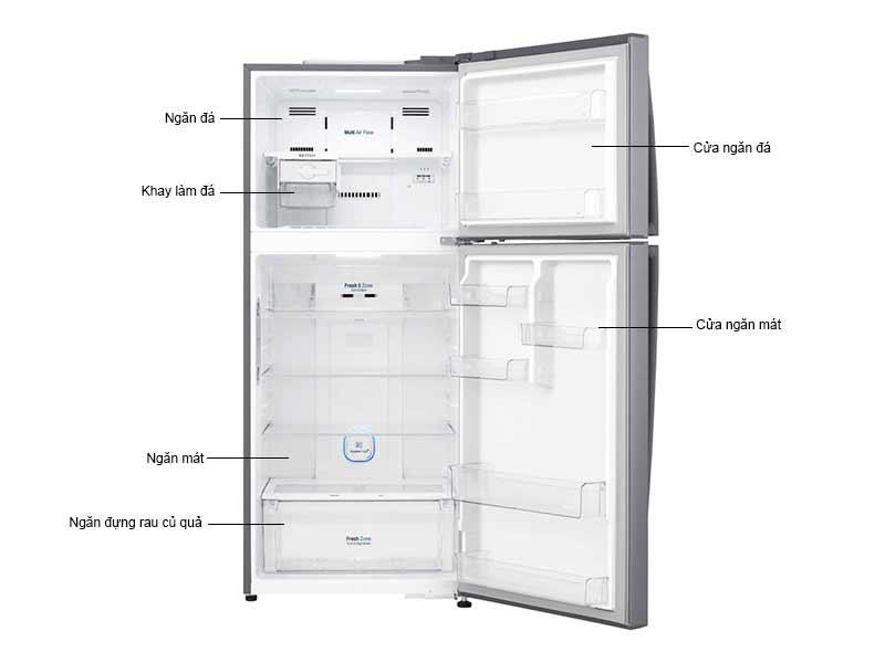 Tủ Lạnh LG 410 Lít GN-L432BS.APZPEVN Inverter