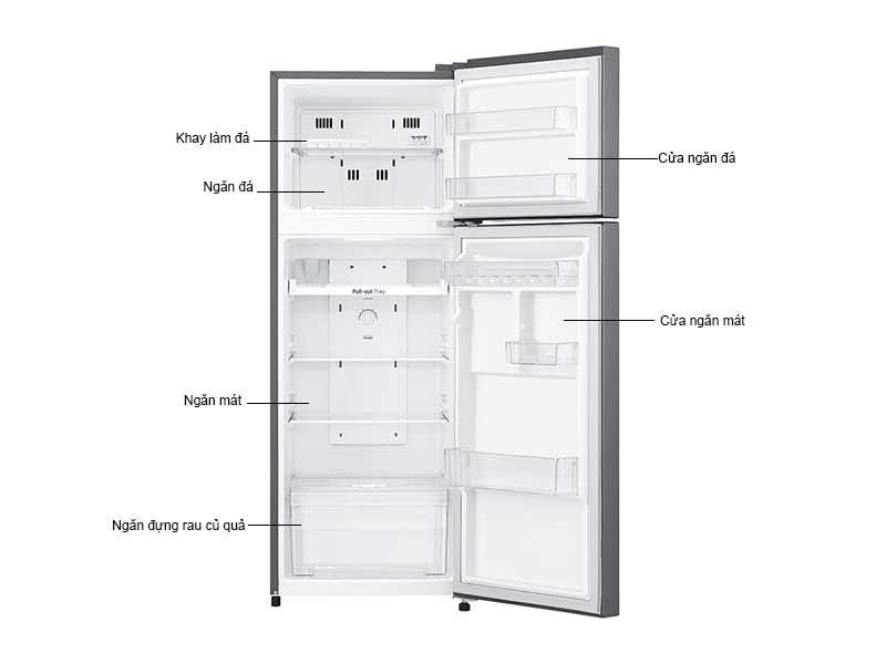 Tủ Lạnh LG 225 Lít GN-L225S.ADSPEVN Inverter