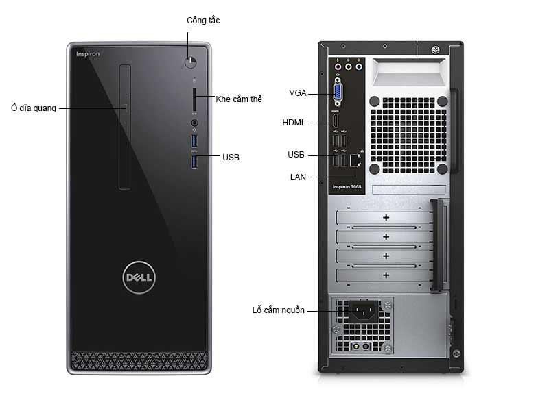 Máy Tính Để Bàn Dell Inspion 3668 42IT360004