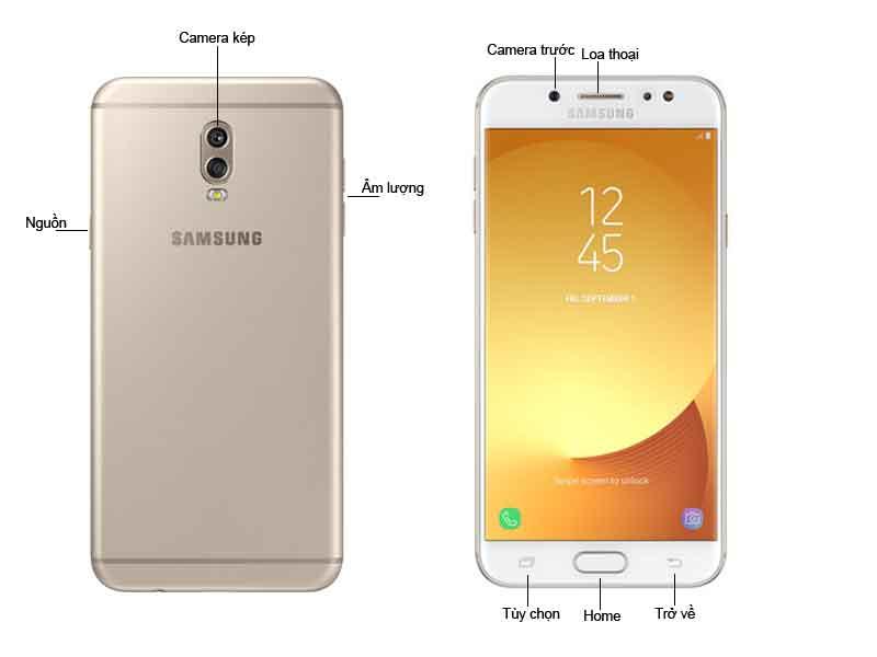 Galaxy J7 Plus Vàng