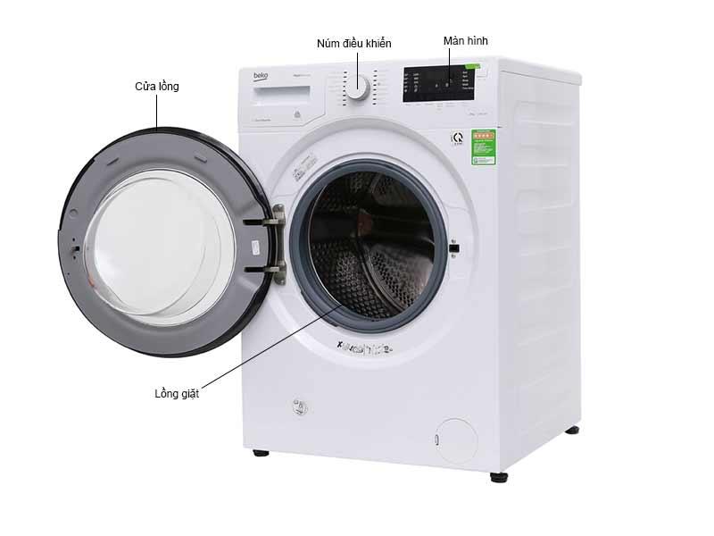 Máy Giặt Beko WMY81283LB2 8kg Inverter