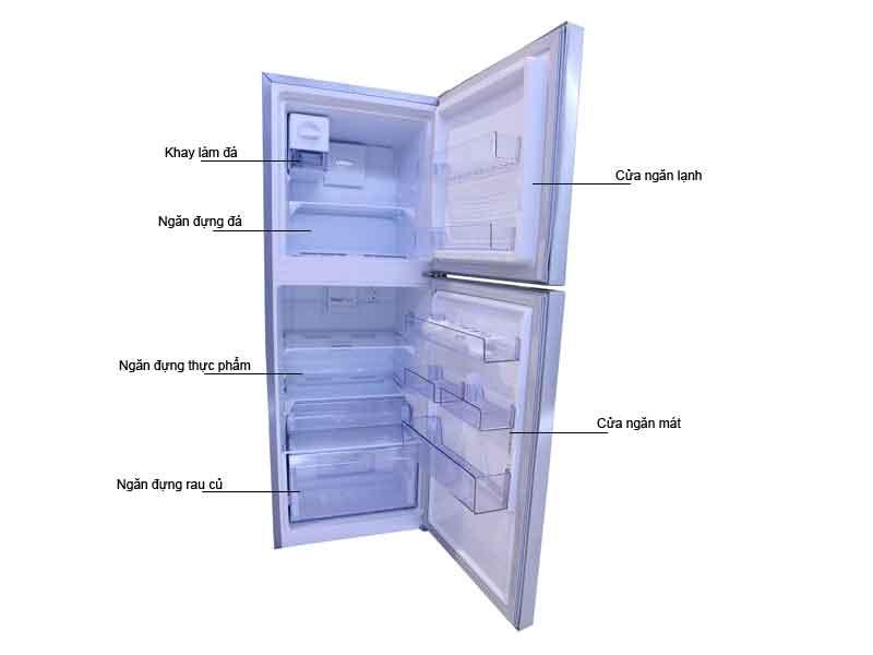 Tủ Lạnh Beko RDNT230I50VX -221lit - Màu Bạc Inverter