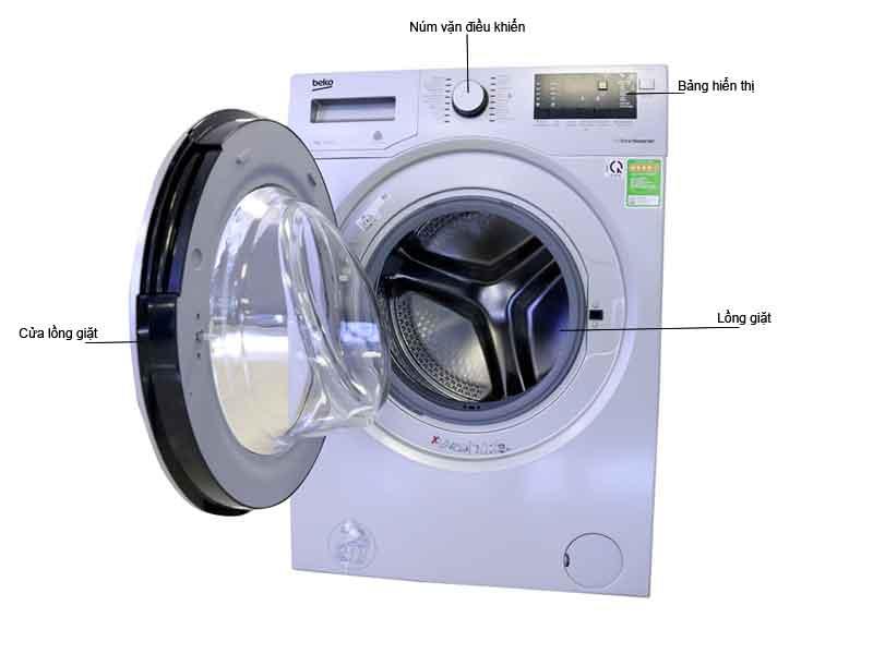 Máy Giặt Beko WMY81283SLB2 8kg Inverter