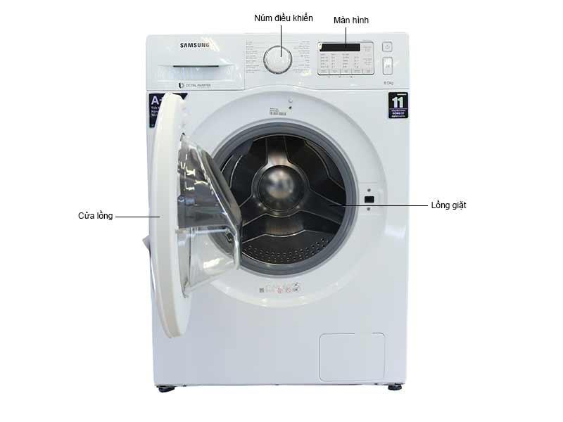 Máy Giặt SamsungWW80K5233YW/SV - 8kg