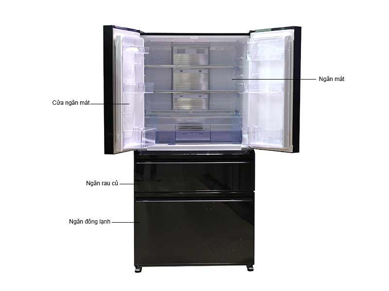 Tủ Lạnh Mitsubishi MRLX68EMGBKV - Màu Gương Đen
