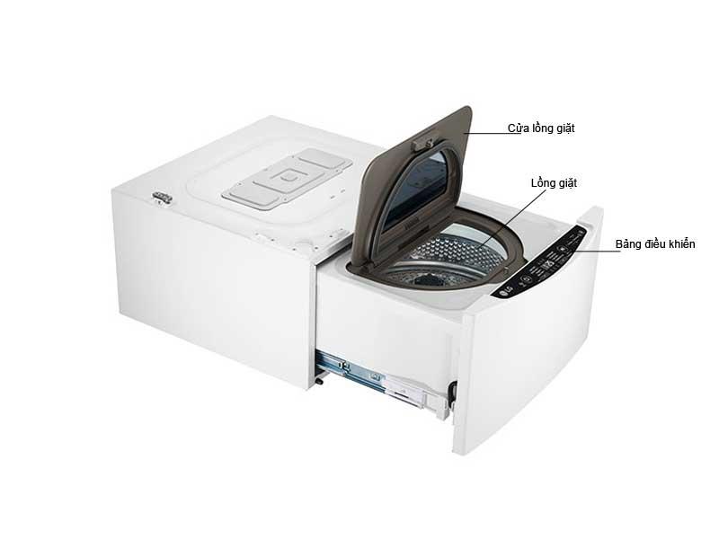 Máy Giặt LG TWINWash TG2402NTWW Loại 2kg