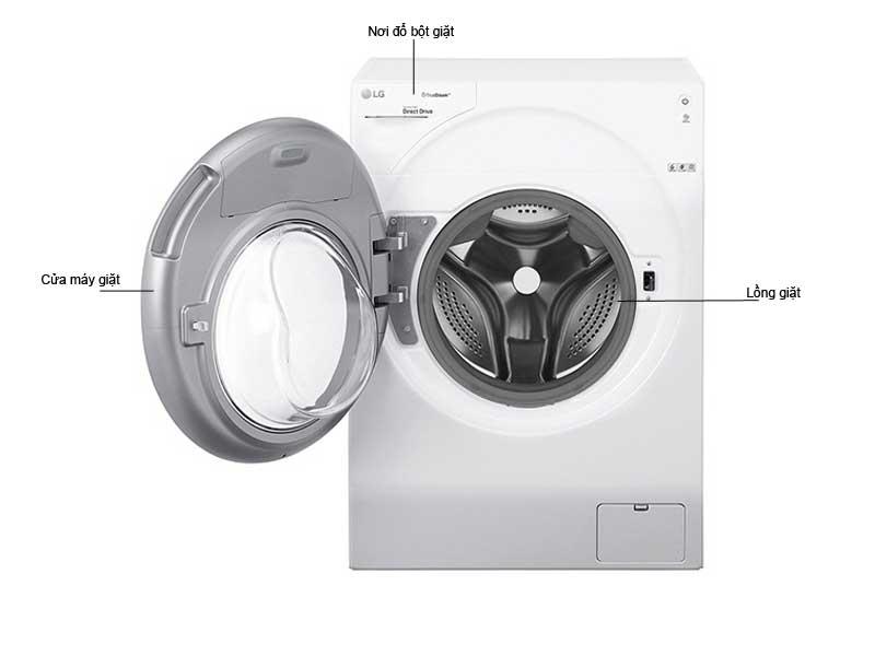 Máy Giặt LG TWINWash FG1405H3W Loại 10.5kg Giặt - 7kg Sấy