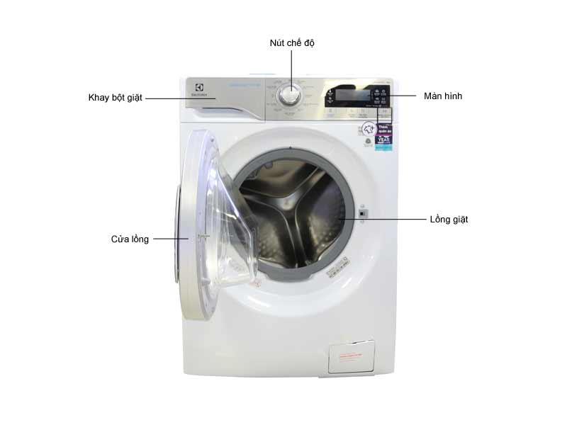 Máy Giặt Electrolux EWF12938 Trắng