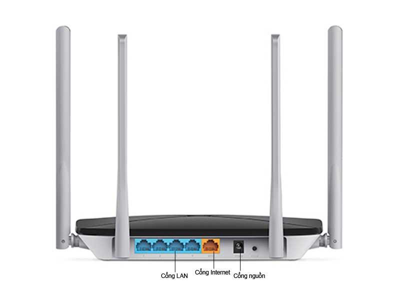 Bộ Phát Sóng Wifi Mercusys Băng Tần Kép AC12