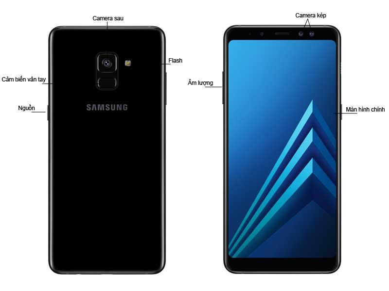 Samsung Galaxy A8 2018 Đen