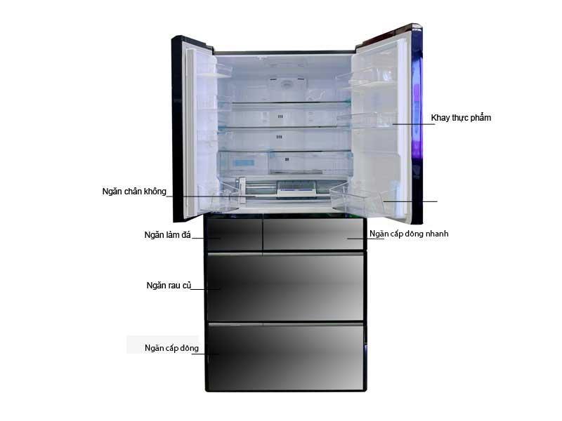 Tủ Lạnh Hitachi RX670GVX 722 lít