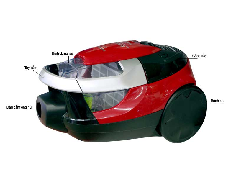 Máy Hút Bụi Hitachi CVSE22V24CVBRE