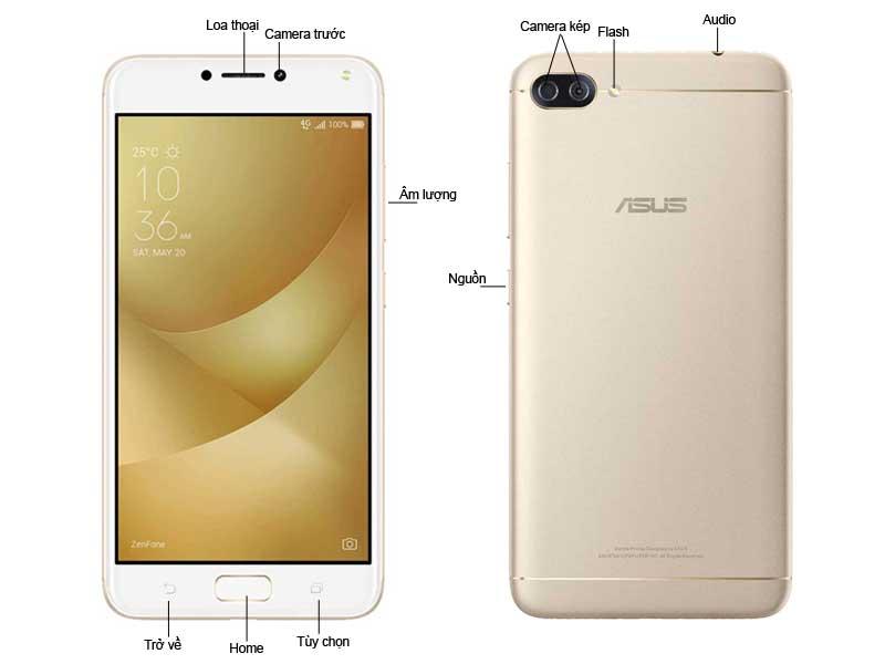 Asus ZenFone 4 Max ZC520KL Gold