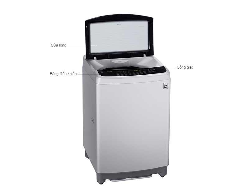 Máy Giặt Lồng Đứng LG T2395VS2M 9.5 Kg Bạc