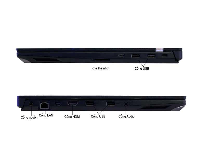 Laptop Asus GL503VD-GZ119T Core I7