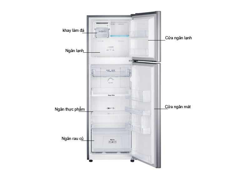 Tủ Lạnh Samsung RT22FARBDSA/SV Inverter 236 Lít