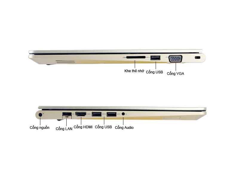 Laptop Dell Vostro V5468-VTI35018-GOLD