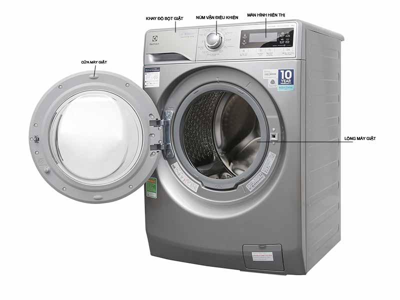 Máy Giặt Electrolux EWF12938S 9kg Inverter