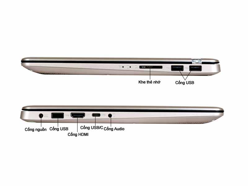 Laptop Asus X411UA-BV360T Vàng