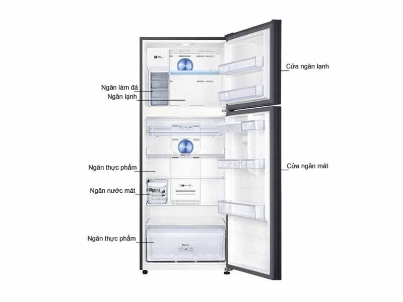 Tủ Lạnh Samsung RT46K6885BS/SV 452 Lit Inverter