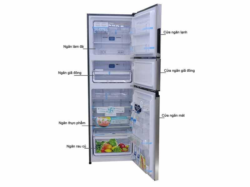 Tủ Lạnh Electrolux EME3500GG Inverter