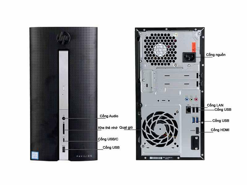 Máy Tính Để Bàn HP570-P081D 3JT87AA