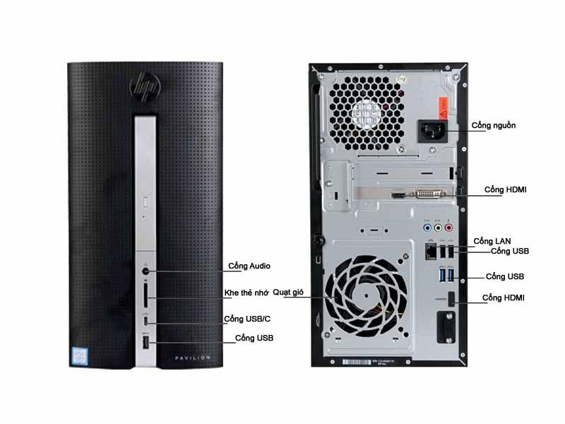 Máy Tính Để Bàn HP HP570-P009D Core i5 3JT49AA