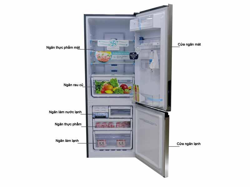 Tủ Lạnh Electrolux EBB3200GG 310 Lít Inverter