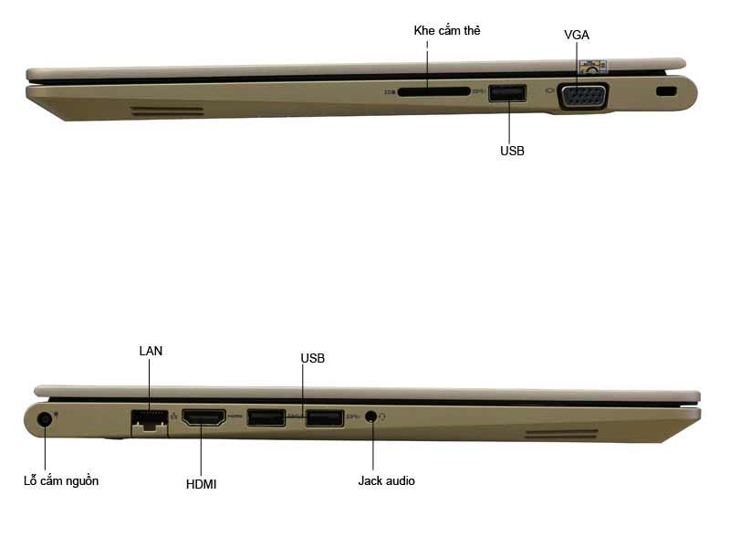 Laptop Dell Vostro V5468-VTI5019-GOLD