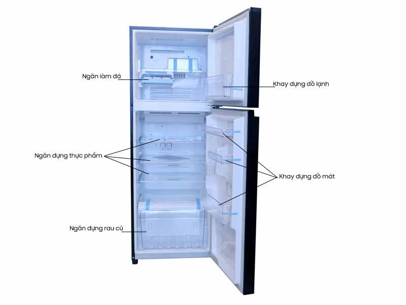 Tủ Lạnh Toshiba GR-AG36VUBZ 305L Inverter