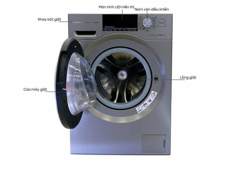 Máy Giặt Panasonic NA-128VX6LV2 - 8.0 kg