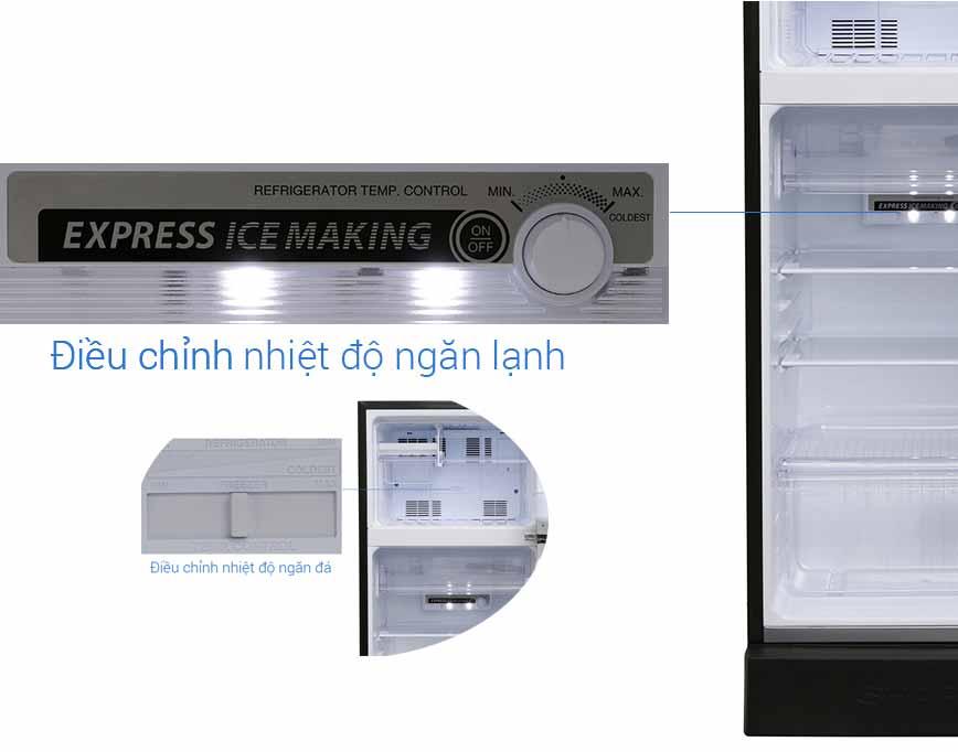 Tủ Lạnh Sharp SJ-X196E-DSS 180 Lít