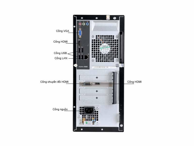 Máy Tính Để Bàn Dell VOS3668MT (V3668MTPWVK48)