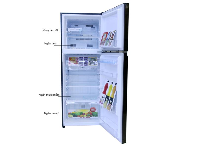 Tủ Lạnh Mitsubishi MR-FV28EM-BR-V 231L Inverter