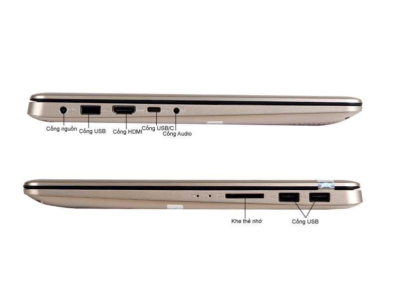 Laptop Asus A411UA-BV445T Core I5 Vàng
