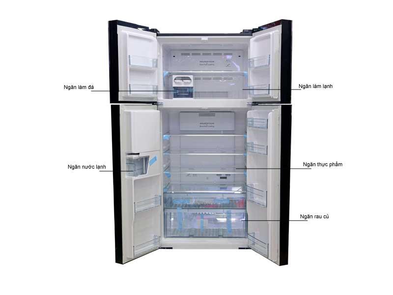 Tủ Lạnh Hitachi FW690PGV7GBK 540 Lít