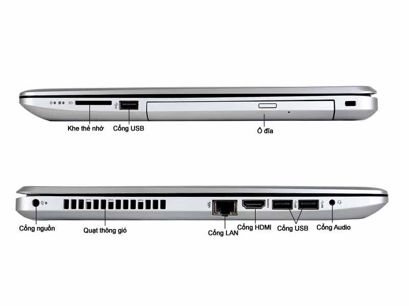 Laptop HP 15-da0108TU (4TB50PA) Pentium N5000 Silver