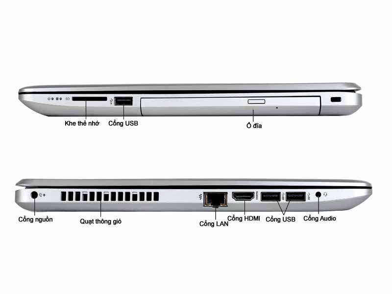Laptop HP 15-da108TU (4TB50PA) Pentium N5000 Silver