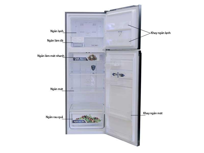 Tủ Lạnh Electrolux ETB3700H-H Inverter 370 Lít