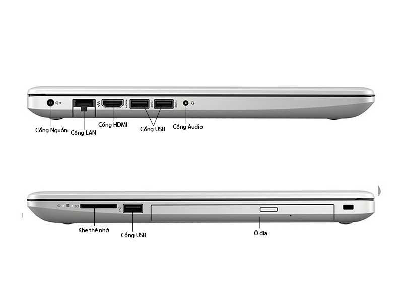 Laptop HP15-da0358TU ( 6KD02PA) Pentium 4417U Silver