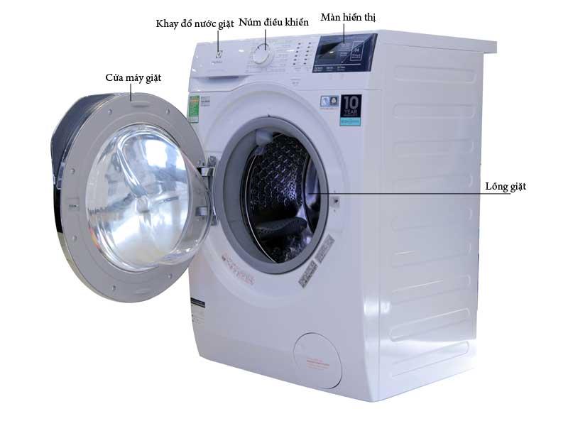 Máy Giặt Inverter Electrolux EWF8024BDWA - 8kg