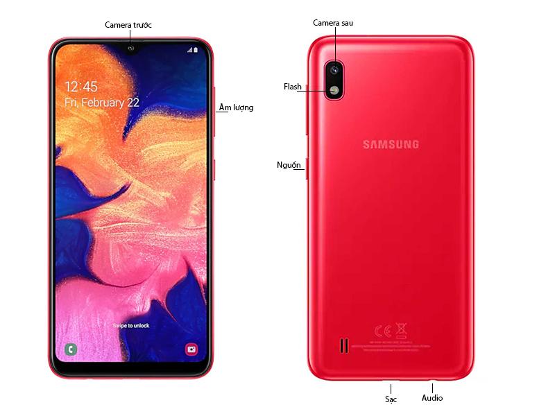 Điện Thoại Samsung Galaxy A10 - Đỏ