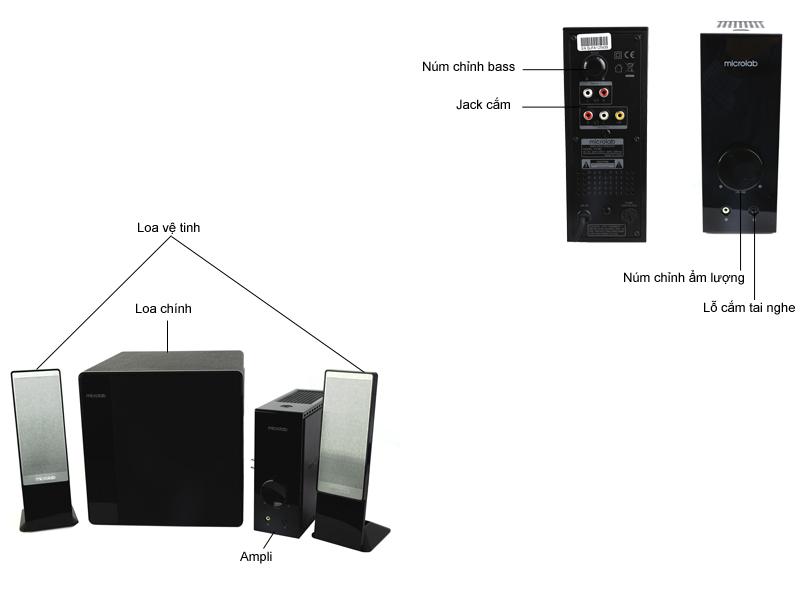 Loa Microlab FC362 2.1