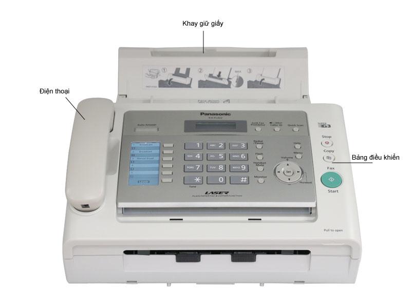 Máy fax laser panasonic  KXFL422